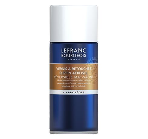 Lefranc Bourgeois - superfine anti UV picture varnish aerosol matt satin
