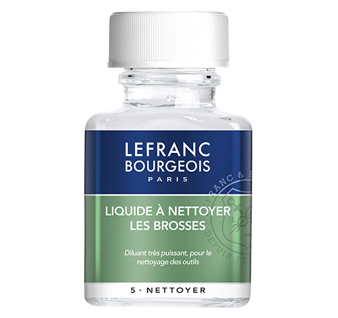 Lefranc Bourgeois Brush cleaning fluid