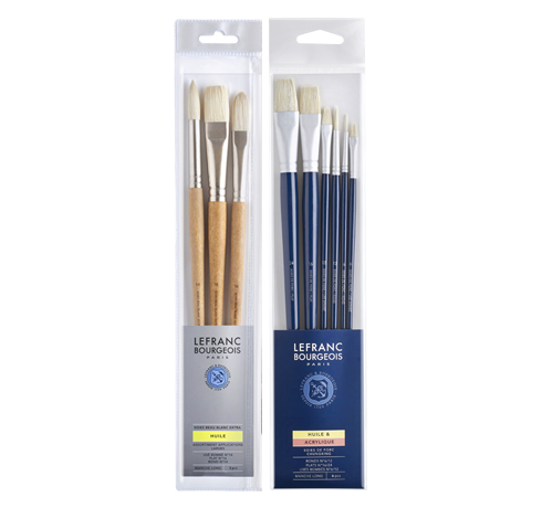 Lefranc Bourgeois oil brushes