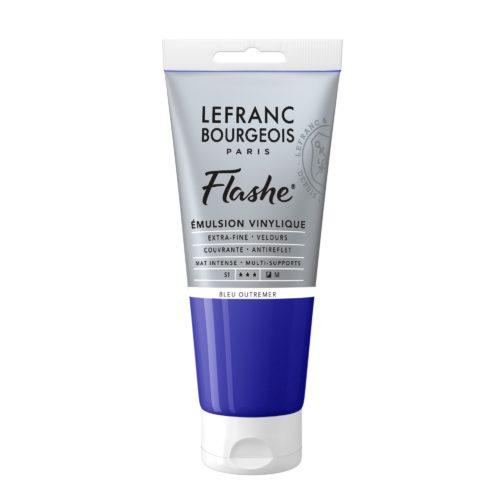 FLASHE Acrylique 80ML Tube Bleu Outremer