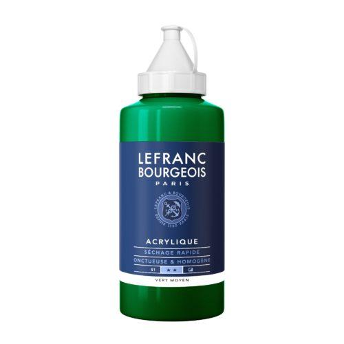 Acrylique Fine 750ML Vert Moyen