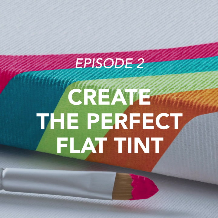Creating the perfect flat tint with Flashe
