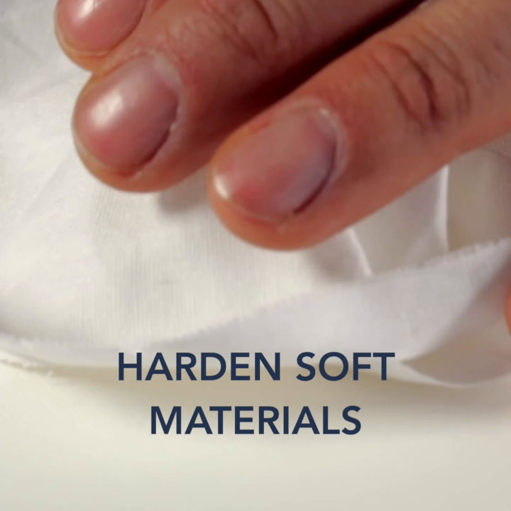 Multi-effect binder – part 2 harden soft materials