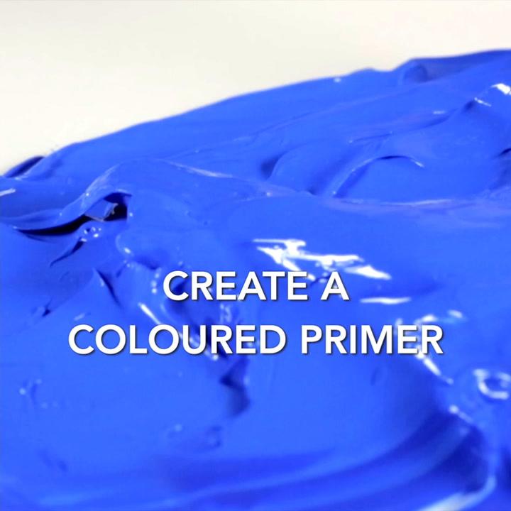 Multi-effect binder – part 4 create a coloured primer