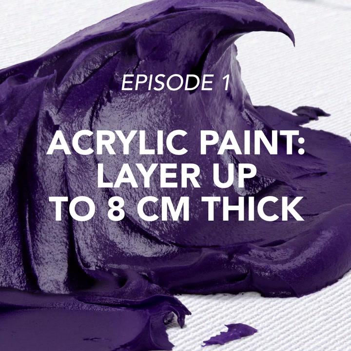 Multi-effect binder and fine acrylic – create volume