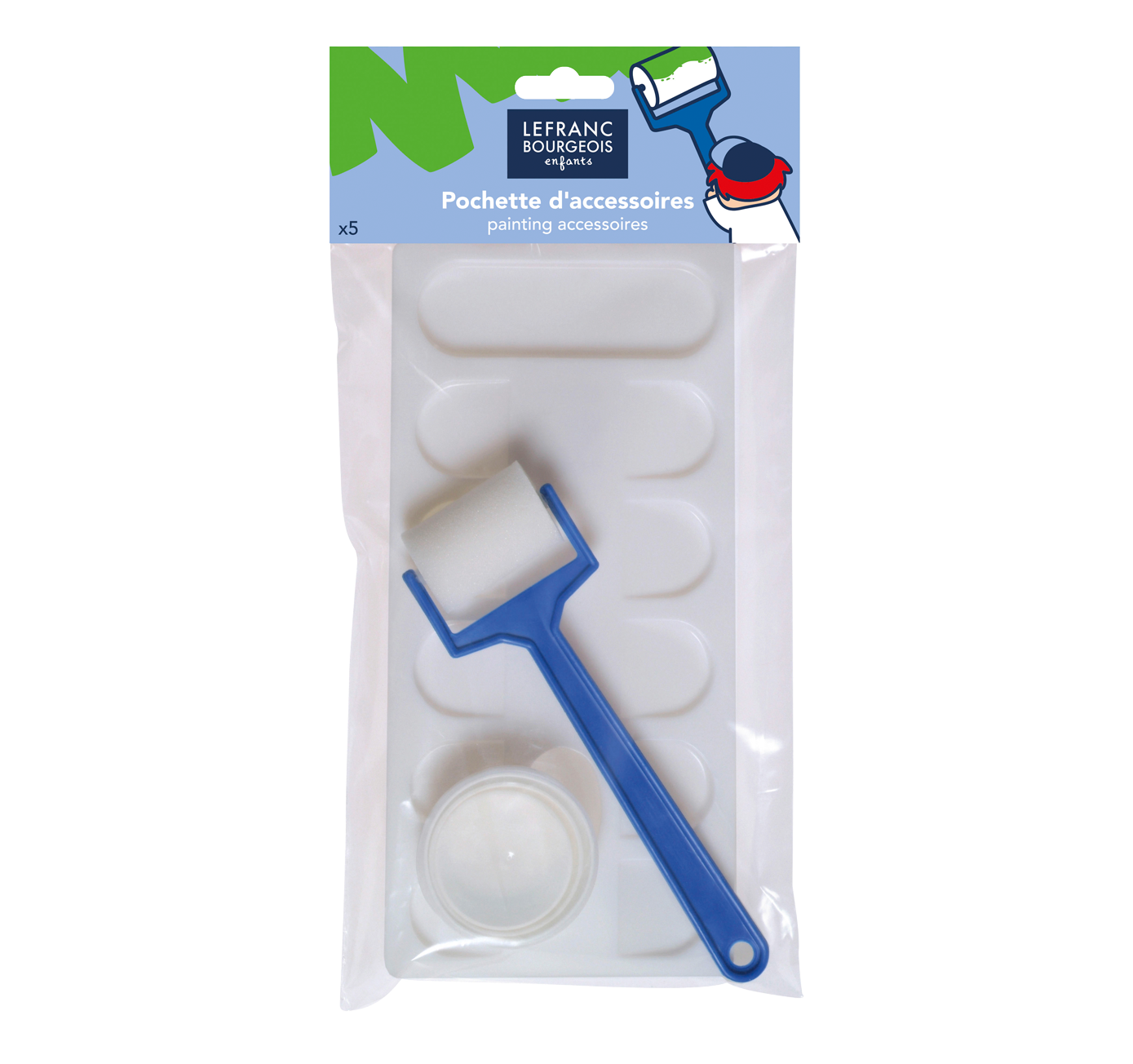Pack of painting accessories