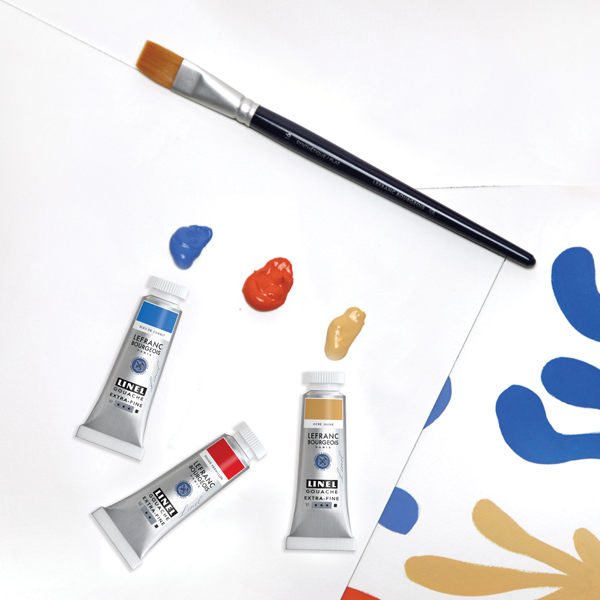 Lefranc Bourgeois 300 years of colours Linel gouache Video