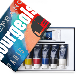 Acrylic Paint Set Lefranc Bourgeois 300 years of creativity