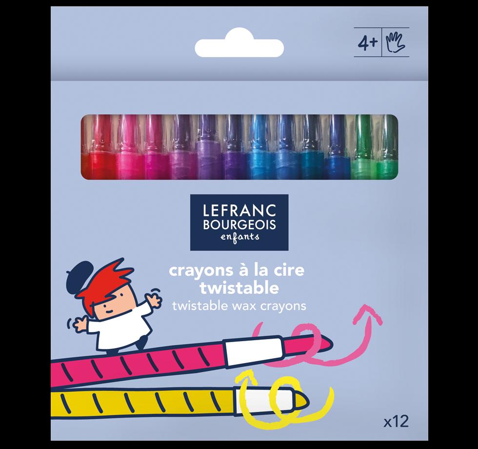 Twistable Wax Crayons x12
