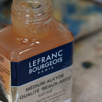 Lefranc Bourgeois Oil Tutorial Portrait Alkyd Medium