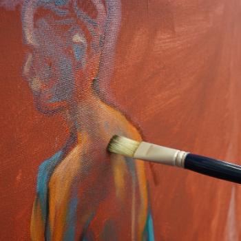 Lefranc Bourgeois Tutorial Nude Coloured Background