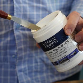 Lefranc Bourgeois Tutorial Oil Beginners Preparing Canvas Primer Acrylic