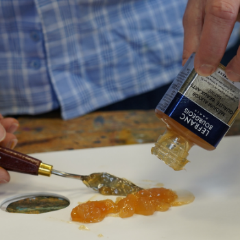 Lefranc Bourgeois Tutorial Oil Beginners Preparing Canvas Primer Oil