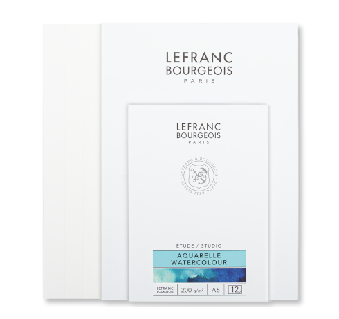 Watercolour paper pads Lefranc Bourgeois