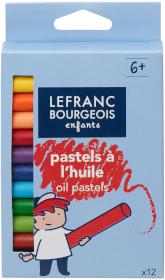 PASTELS À L'HUILE x12