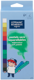 PASTELS SECS AQUARELLABLES x12