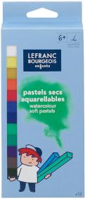 PASTELS SECS AQUARELLABLES x12