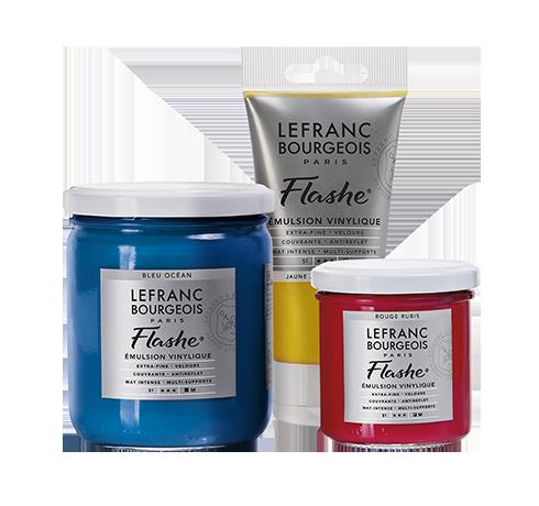 La gamme de peinture vinylique Flashe