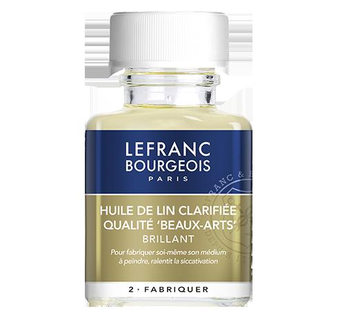 Lefranc Bourgeois - additif huile de lin clarifiée qualité beaux arts