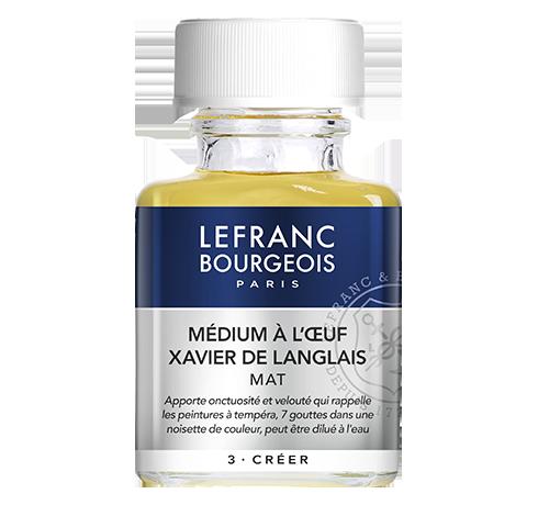 Lefranc Bourgeois - additif medium à l'oeuf Xavier de Langlais