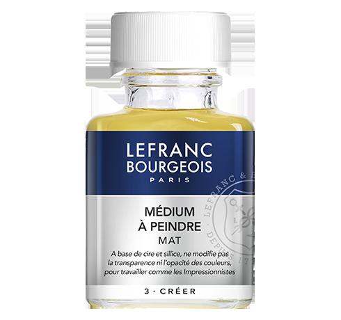 Lefranc Bourgeois - additif medium à peindre mat