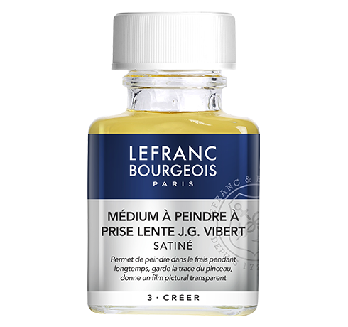 Lefranc Bourgeois - additif medium à peindre prise lente JG Vibert