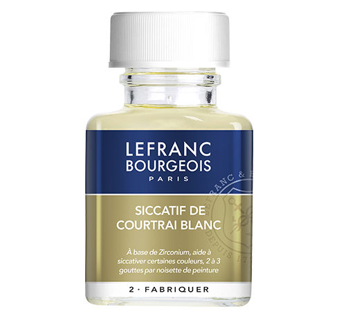 Lefranc Bourgeois - additif siccatif courtrai blanc