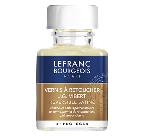 Lefranc Bourgeois - additif vernis à retoucher JG Vibert