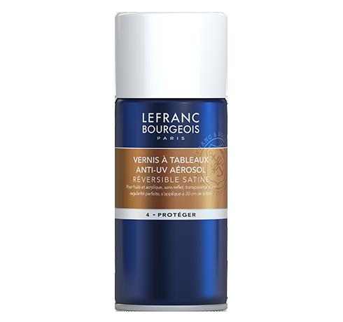 Lefranc Bourgeois - additif vernis à tableaux anti-uv aerosol satiné