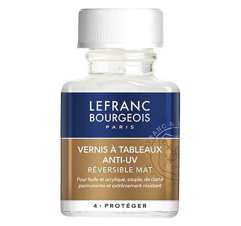 Lefranc Bourgeois - additif vernis à tableaux anti-uv mat