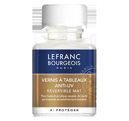 Lefranc Bourgeois - additif vernis à tableaux anti-uv mat