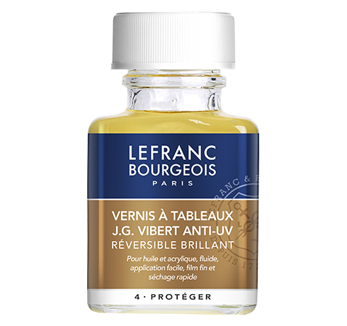 Lefranc Bourgeois - additif vernis à tableaux JG Vibert anti-uv