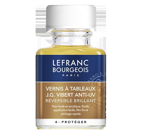 Lefranc Bourgeois - additif vernis à tableaux JG Vibert anti-uv