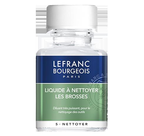 Lefranc Bourgeois additif liquide à nettoyer les brosses