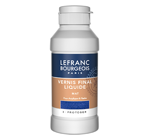 Lefranc Bourgeois venis final liquide mat pour Acrylique