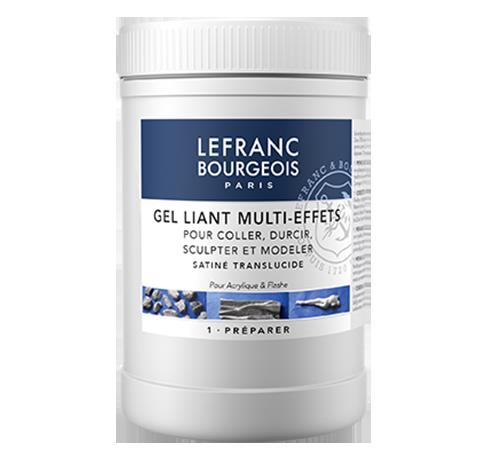Lefranc Bourgeois Gel Liant Multi effets pour Acrylique