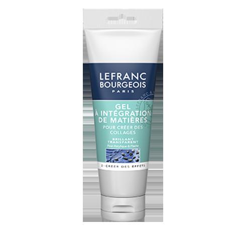 Lefranc Bourgeois gel intégration de matières pour acrylique