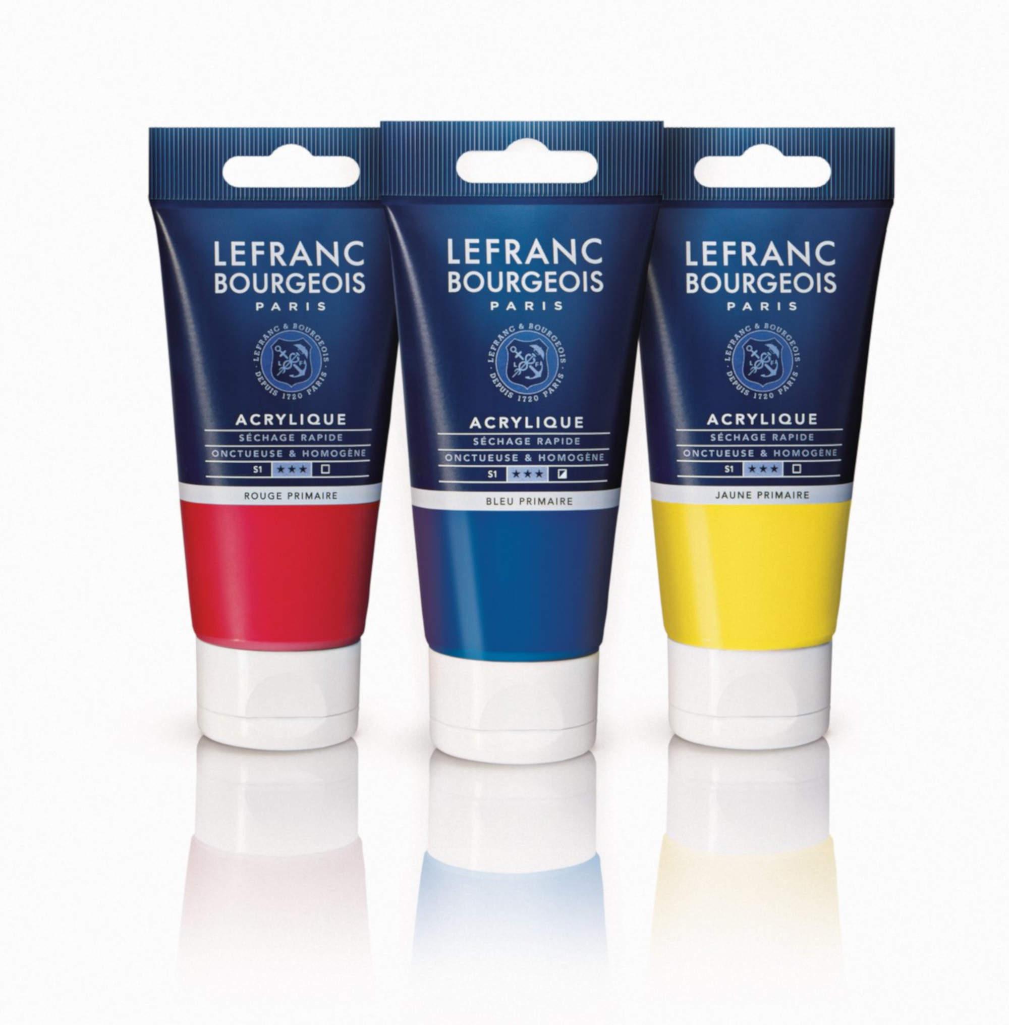 Tubes acrylique fine Lefranc Bourgeois