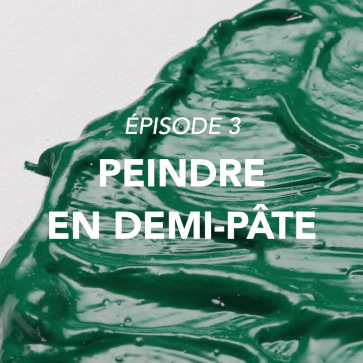 Lefranc Bourgeois Tutoriel huile Peindre en demi-pâte