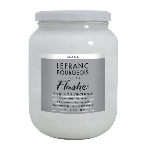 FLASHE Acrylique 750ML Pot Blanc
