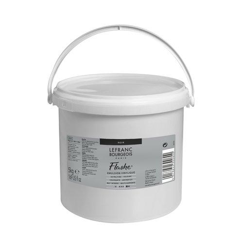 FLASHE Acrylique 5KG Pot Noir