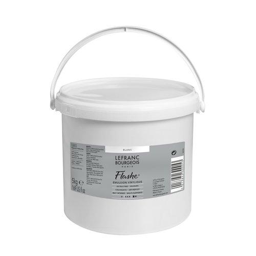 FLASHE Acrylique 5KG Pot Blanc