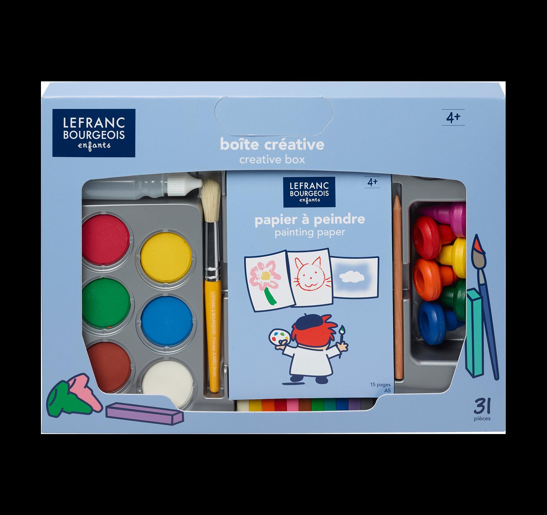 LEFRANC BOURGEOIS ENFANTS BOITE CREATIVE