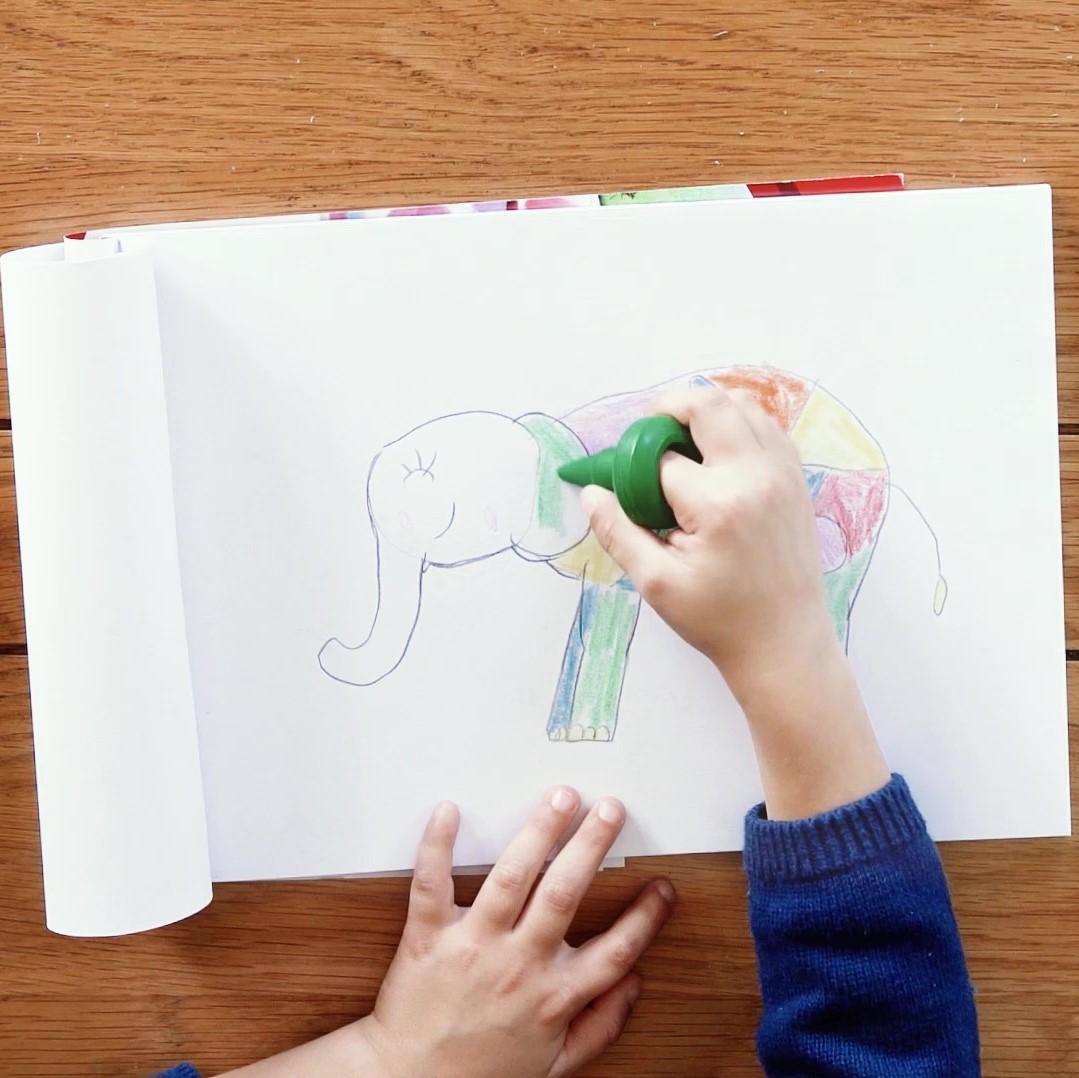 Tutoriel Lefranc Bourgeois Enfants Maxi crayons