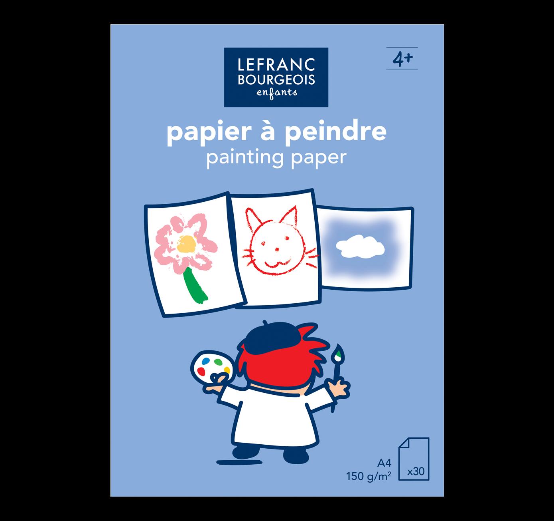 Lefranc Bourgeois Enfants bloc papier A4