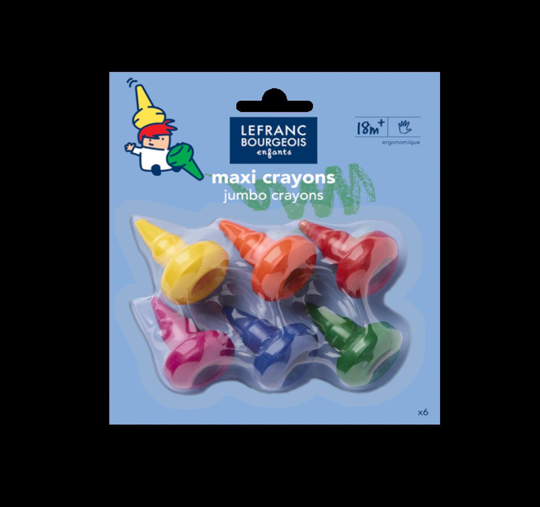Lefranc Bourgeois Enfants maxi crayons